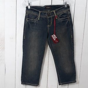 Hotkiss women distressed ankle Jean's sz 3 NWT